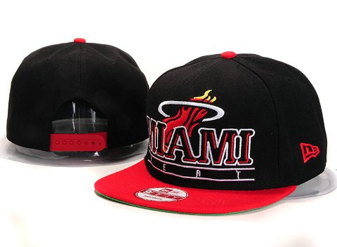 Miami Heat NBA Snapback Hat YS236