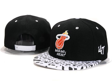 Miami Heat NBA Snapback Hat YS240