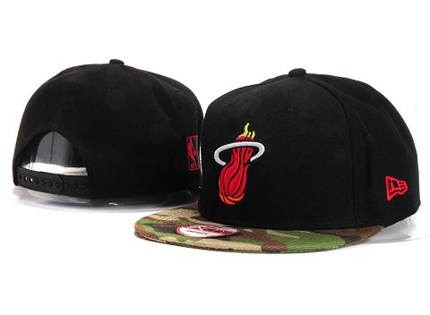 Miami Heat NBA Snapback Hat YS254