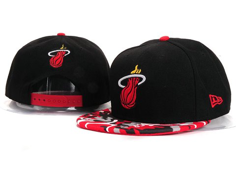 Miami Heat NBA Snapback Hat YS257