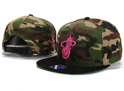 Miami Heat NBA Snapback Hat YS265