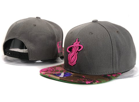 Miami Heat NBA Snapback Hat YS266