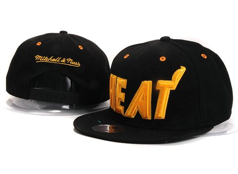 Miami Heat NBA Snapback Hat YS274