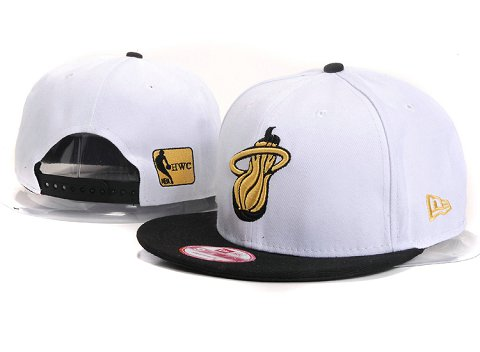 Miami Heat NBA Snapback Hat YS275