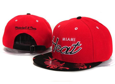 Miami Heat NBA Snapback Hat YS281