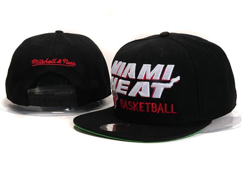 Miami Heat NBA Snapback Hat YS284