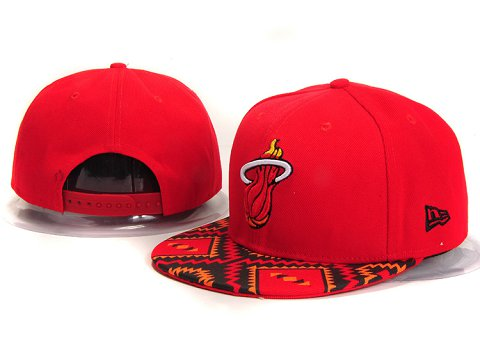 Miami Heat NBA Snapback Hat YS290