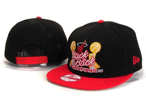 Miami Heat NBA Snapback Hat YS294