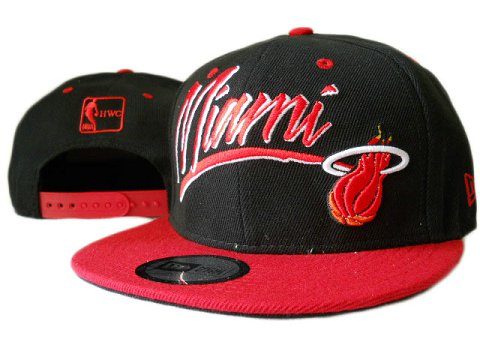 Miami Heat NBA Snapback Hat ZY01