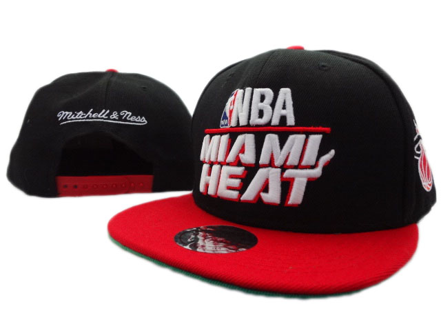 Miami Heat NBA Snapback Hat ZY02