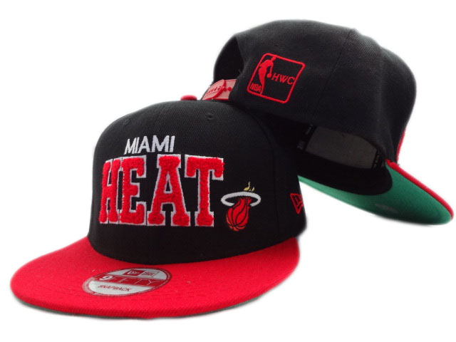 Miami Heat NBA Snapback Hat ZY05