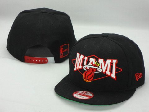 Miami Heat NBA Snapback Hat ZY08