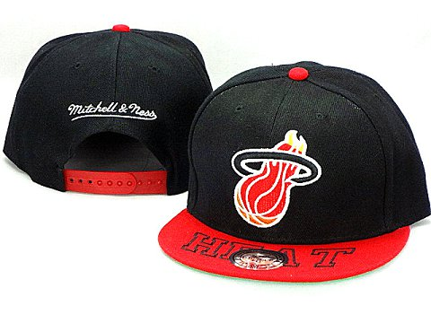 Miami Heat NBA Snapback Hat ZY10