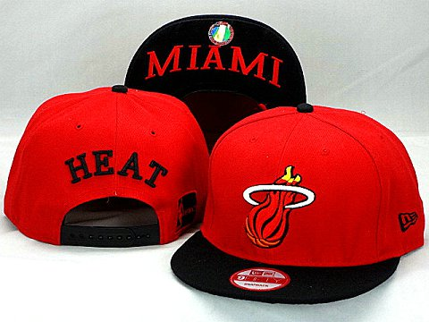 Miami Heat NBA Snapback Hat ZY12