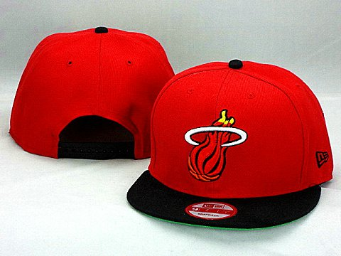 Miami Heat NBA Snapback Hat ZY15