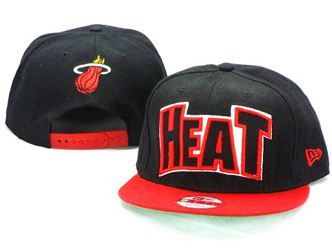 Miami Heat NBA Snapback Hat ZY23