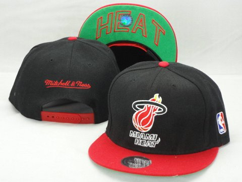 Miami Heat NBA Snapback Hat ZY26