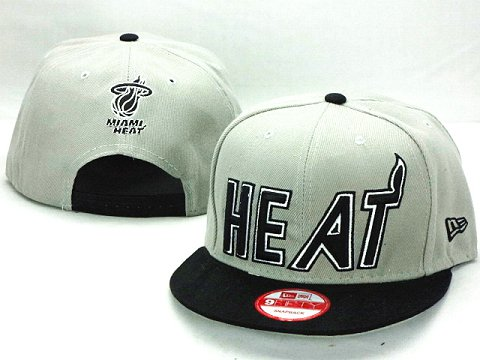 Miami Heat NBA Snapback Hat ZY27