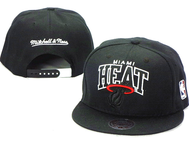 Miami Heat NBA Snapback Hat ZY29