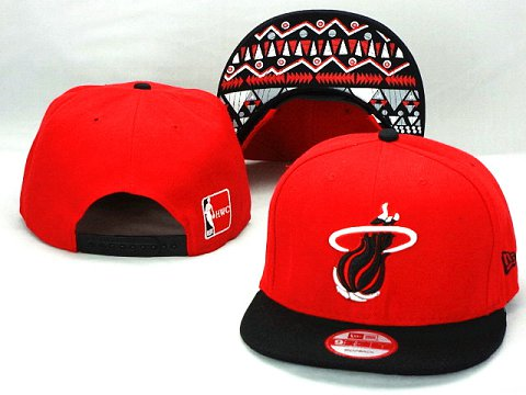 Miami Heat NBA Snapback Hat ZY32