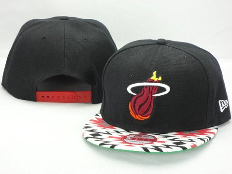 Miami Heat NBA Snapback Hat ZY35