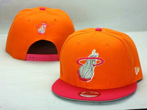 Miami Heat NBA Snapback Hat ZY38