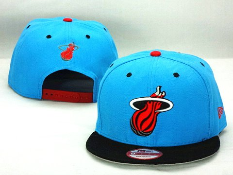 Miami Heat NBA Snapback Hat ZY40