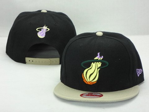 Miami Heat NBA Snapback Hat ZY42