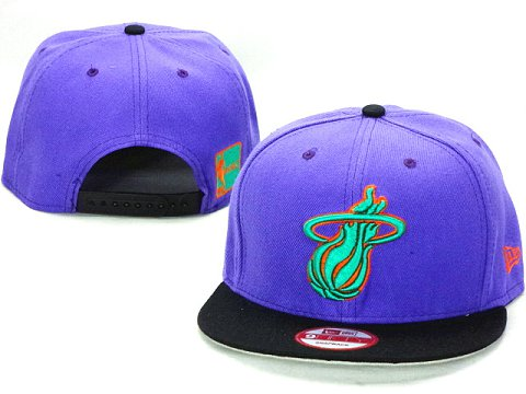 Miami Heat NBA Snapback Hat ZY45