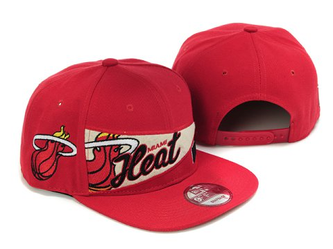 Miami Heat Snapback Hat LX28