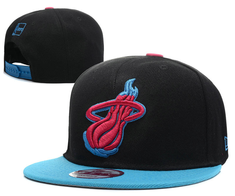 Miami Heat Snapback Hat DF5 0512