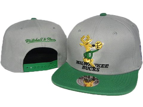 Milwaukee Bucks Mitchell&Ness Snapback Hat DD 0010