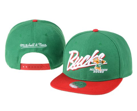 Milwaukee Bucks NBA Snapback Hat 60D