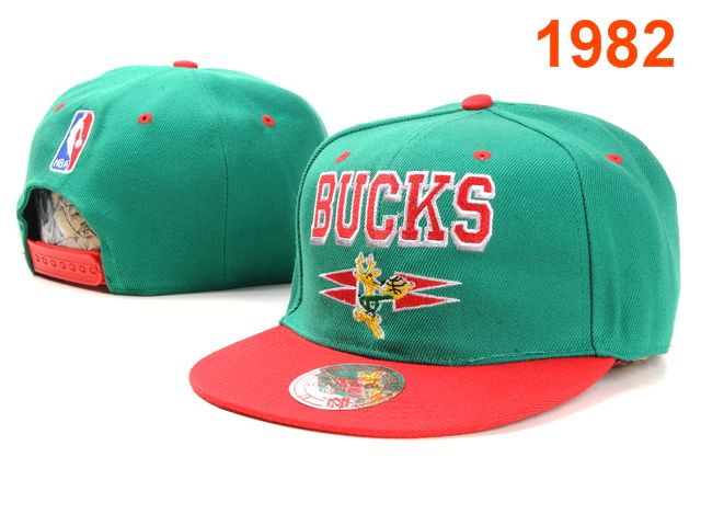 Milwaukee Bucks NBA Snapback Hat PT003