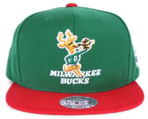 Milwaukee Bucks NBA Snapback Hat Sf2