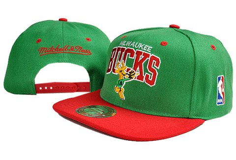 Milwaukee Bucks NBA Snapback Hat TY141