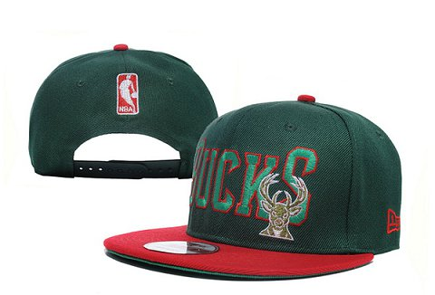Milwaukee Bucks NBA Snapback Hat XDF121