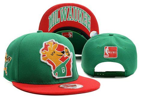 Milwaukee Bucks NBA Snapback Hat XDF296