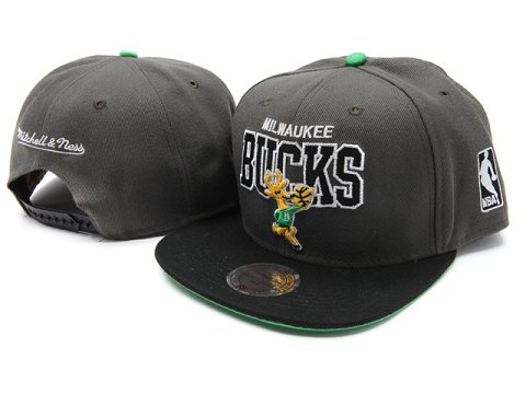 Milwaukee Bucks NBA Snapback Hat YS010