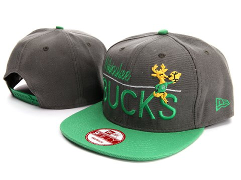 Milwaukee Bucks NBA Snapback Hat YS020