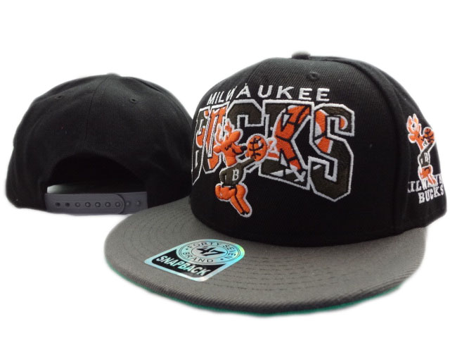 Milwaukee Bucks NBA Snapback Hat ZY1