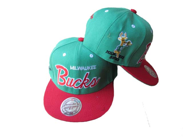 Milwaukee Bucks Snapback Hat LX08