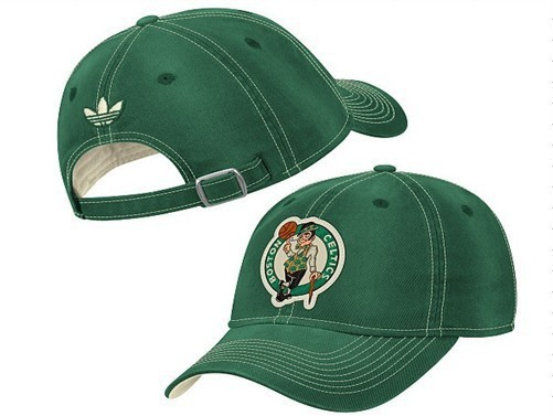 Boston Celtics Green Peaked Cap DF 0512