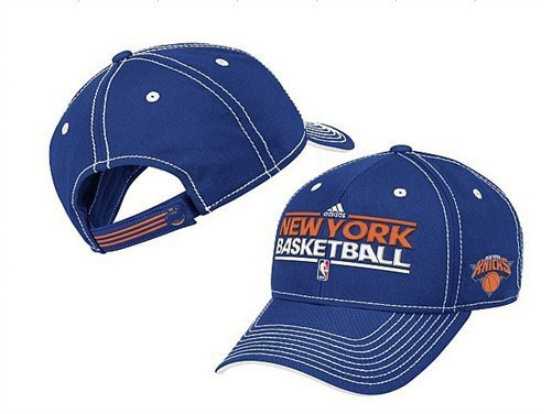 New York Knicks Blue Peaked Cap DF 0512