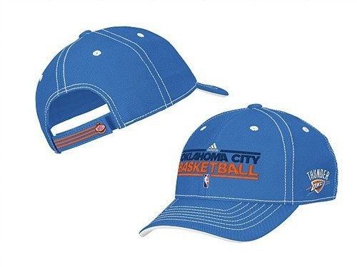 Oklahoma City Thunder Blue Peaked Cap DF 0512