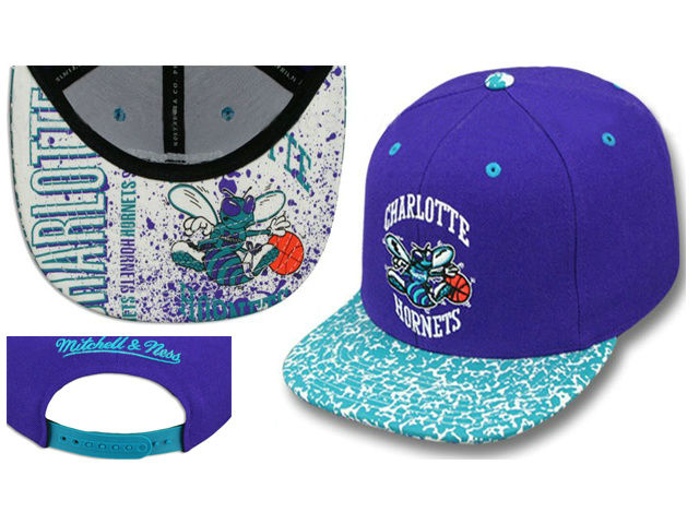 New Orleans Hornets Snapback Hat LS