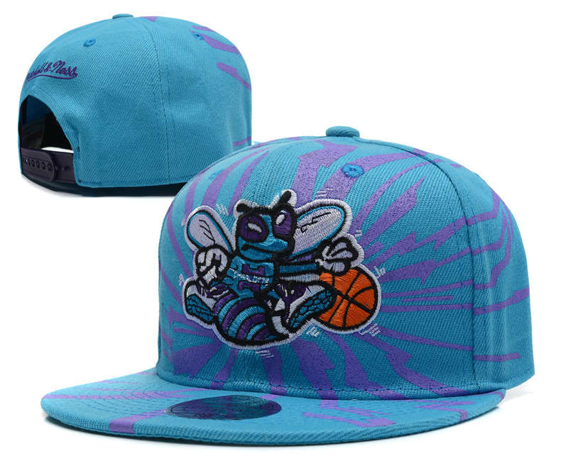 New Orleans Hornets Snapback Hat DF 1 0613