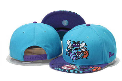New Orleans Hornets Snapback Hat 1 GS 0620