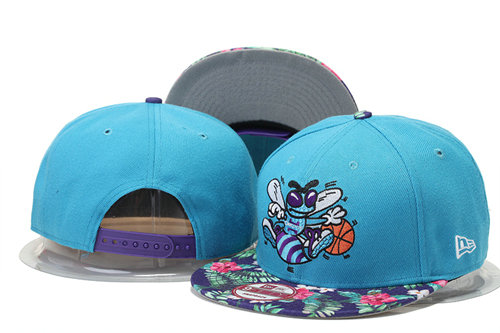 New Orleans Hornets Snapback Hat 2 GS 0620