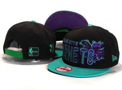 New Orleans Hornets New Type Snapback Hat YS U8704